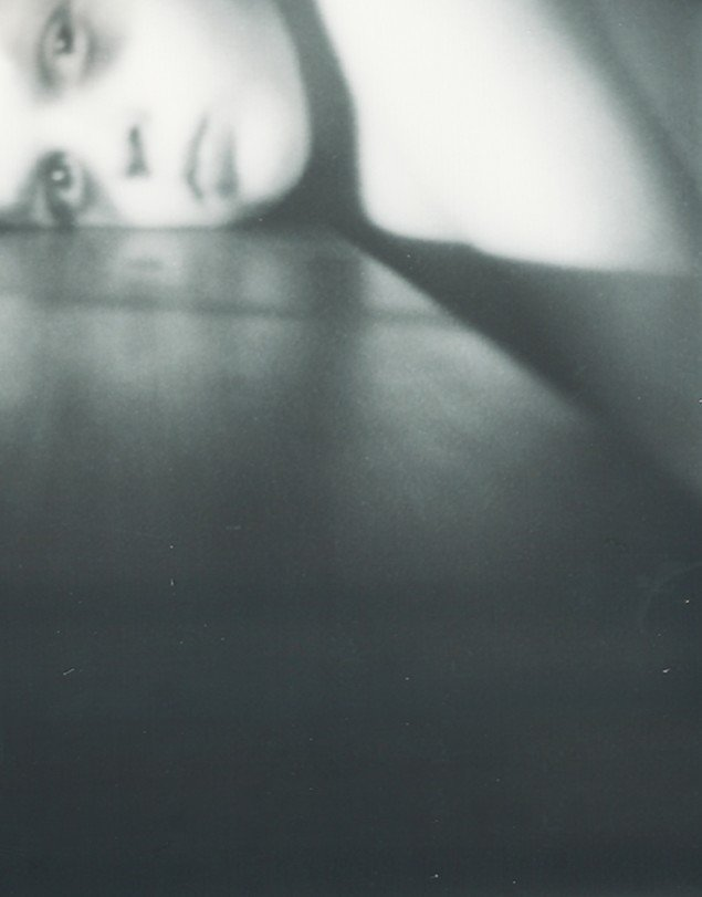 Rikke Benborg: Polaroid fra serien On death and delight 2012, 40x31 cm