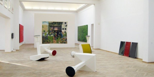Kerry James Marshall: Painting and Other Stuff, Kunsthal Charlottenborg, installationsview. (Foto: Matthias Hvass Borello)