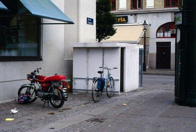 Søren Jensen: Bicycle Shelter 1998. Goetheborg. Foto: Søren Jensen
