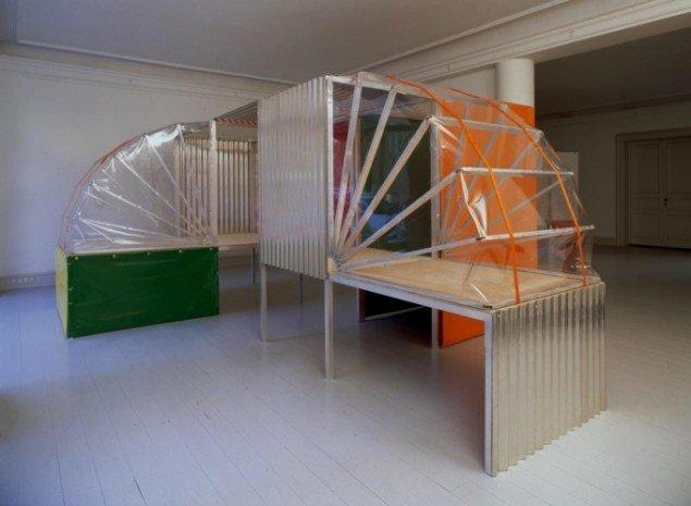 Søren Jensen:  Prototyper  2000. Galerie Mikael Andersen. Foto: Bent Ryberg