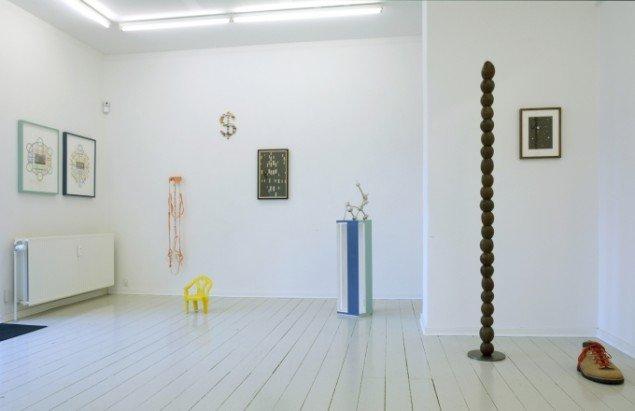 Installationsview. Foto: Galerie MøllerWitt