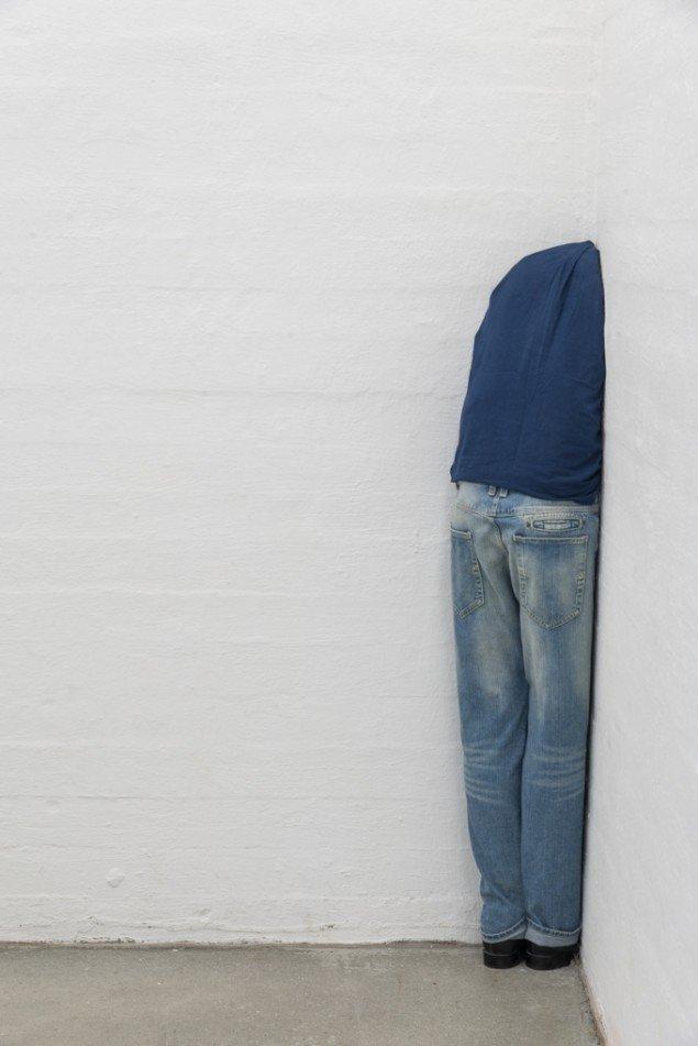 Daniel Svarre: Position/Hjørne, 2014. På SOLO, Kunsthal Nord 2014. Foto: Niels Fabæk