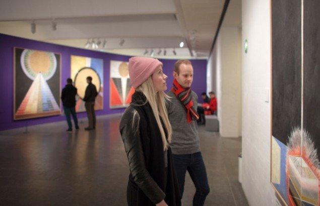 Installation shot, Hilma af Klint – Abstrakt pioner. Foto: Poul Buchard / Brøndum & Co