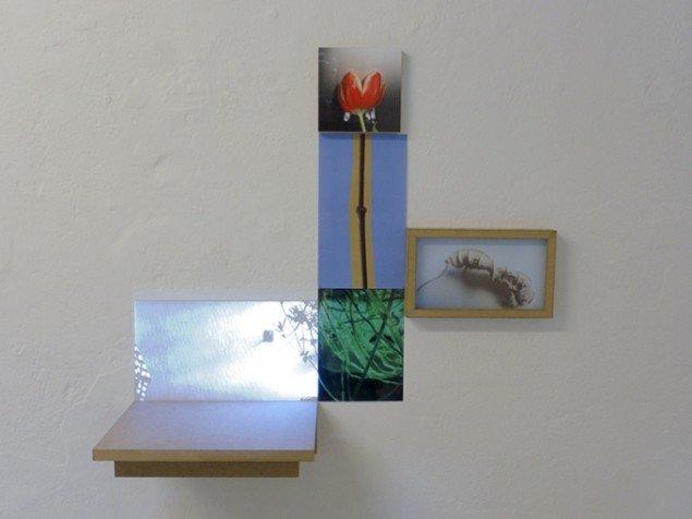 HUMAN SITES sohn+isaksen: Knopskydning 4. Videoprojektion og fotos. Foto: Bodil Sohn