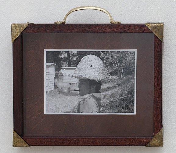 Hartmut Stockter: Beehive-Hat, 27x21cm. 2004/2013. Foto: Hartmut Stockter/LARMgalleri