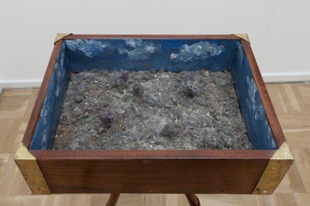 Hartmur Stockter: Dust Landscape, 2014,114x52x39 cm. Foto: Hartmut Stockter/LARMgalleri
