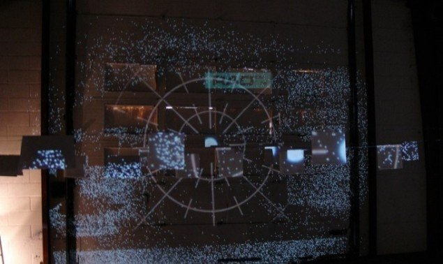 Lars Mikkes: Ulysses, videoinstallation, 2014. Foto: Lars Mikkes
