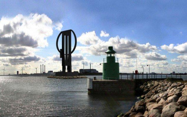 Store Roberts tiltænkte udformning og placering i København, som Akademirådet var stærkt imod. (PR foto)