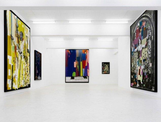 Fra Kirstine Roepstorffs udstilling Rianbows, 2009, ved det tidligere Galleri Christina Wilson. (Foto: Anders Sune Berg)