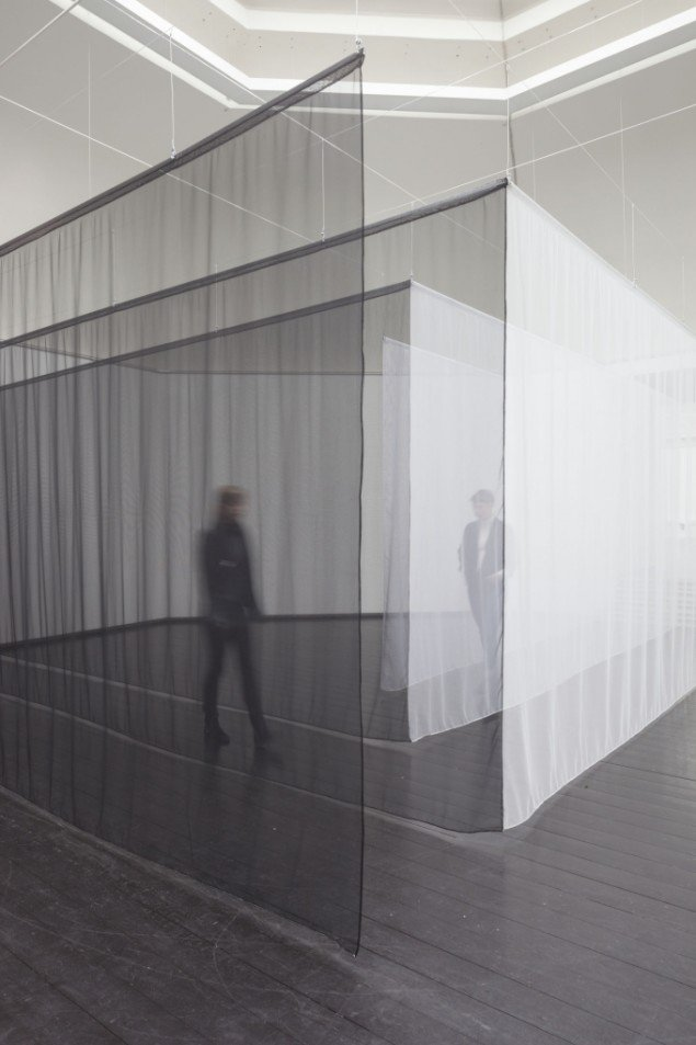 AVPD: Pass, 2014. View fra udstillingen Beyond Reach - en udstilling om rum, Den Frie Udstillingsbygning. Foto: Anders Sune Berg