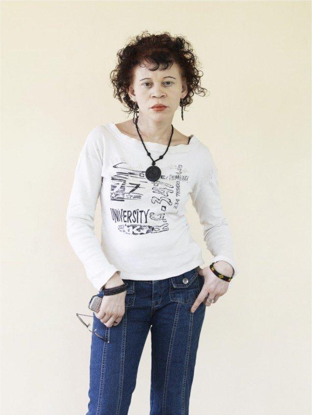 Patrick Gries: Sophia Mwhlammedi, 2010/13. På Ordinary People, Banja Rathnov Galleri & Kunsthandel. Foto: Courtesy af udstillingsstedet