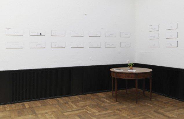 Maren Uthaug: Ting jeg gjorde. Udstillingsview fra Ordinary People, Banja Rathnov Galleri & Kunsthandel. Foto: Patrick Gries
