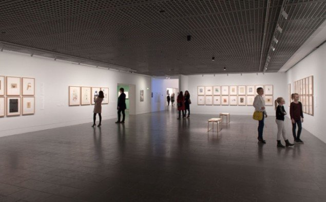 Joseph Beuys, Installation shot. (Foto: Poul Buchard / Brøndum & Co / Louisiana Museum of Modern Art)