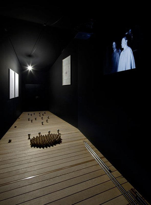 Lea Porsager: The Anatta Experiment, 2012, dOCUMENTA (13). (Foto: Nils Klinger)
