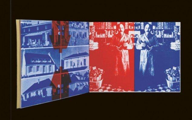 Albert Mertz: La maison Rouge+Bleu, 1973. (illustration fra bogen)