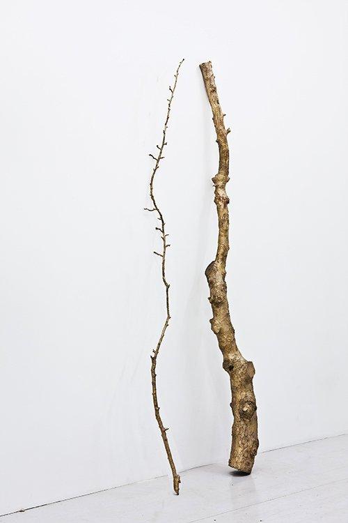 Tina Maria Nielsen: I am you are, 2013. Bronze. På Hver og én, Charlotte Fogh Gallery. Foto: Gert Skærlund Andersen