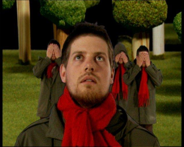 Jacob Tækker: Emotional Landscape, 2005, still-billede fra video.