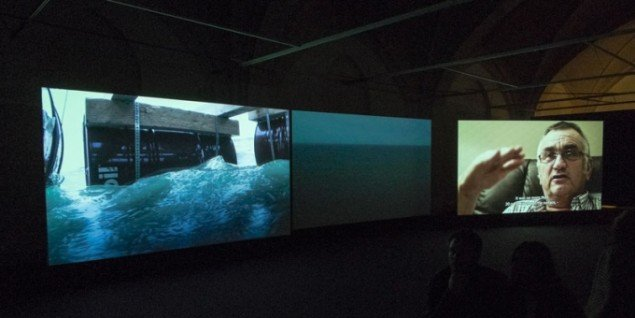 Installationsview, Drifting, Fotografisk Center [on the go]. (Foto: Kevin Broadbery)
