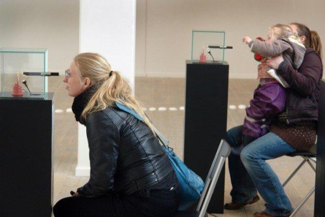 Laurits Nymand Svendsens Myopia Through the Lens of Psykology tiltrak mange gæster. Foto: Jens Møller