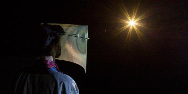 Jacob Tækker: Apophenia Cloud Travel Apparatus, 2014. Installationsview. (Foto: Anders Sune Berg)