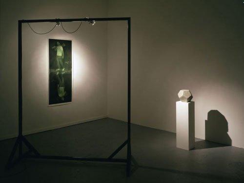 Installationsview fra Jacob Dahl Jürgensens udstilling A Tragical History hos croy nielsen. Foto: Marc Räder