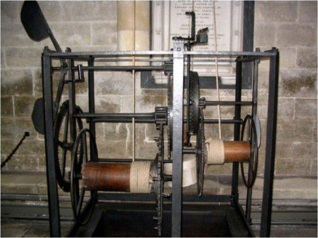 Det første mekaniske ur bygget af italiensk munk (Ca. 1275)
