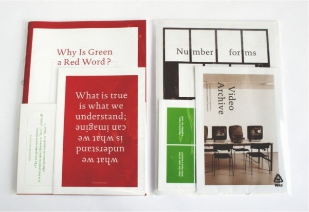 Ditte Lyngkær Pedersen: Artist Book: Why is Green a red Word?