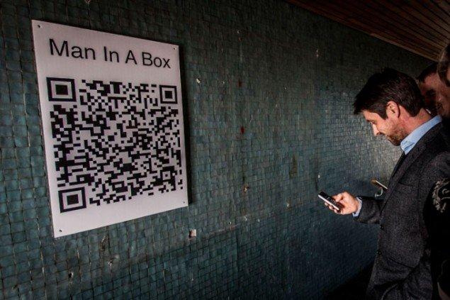 Jacob Tækker (DK): Man in A Box, 2013. (Pressefoto)
