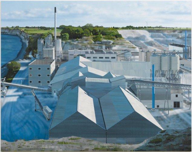 Dansk råstofudvinding. Allan Otte, Indgreb, 2007. Foto: Skive Kunstmuseum.