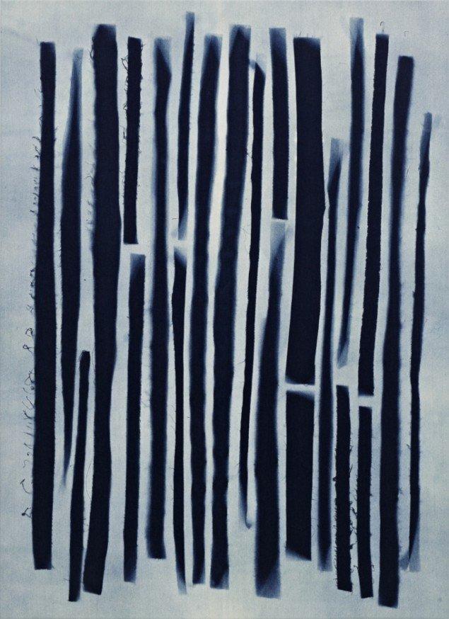 Anja Schwörer: Uden titel, 195x142 cm. Courtesy Galerie MøllerWitt.