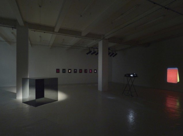 Installation view. The Voice of Things, Overgaden, 2012. Foto Anders Sune Berg.