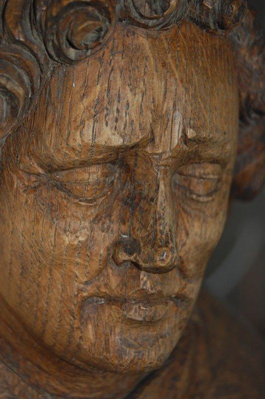 Et af klostrets permanente værker. (Foto: Mai Misfeldt)