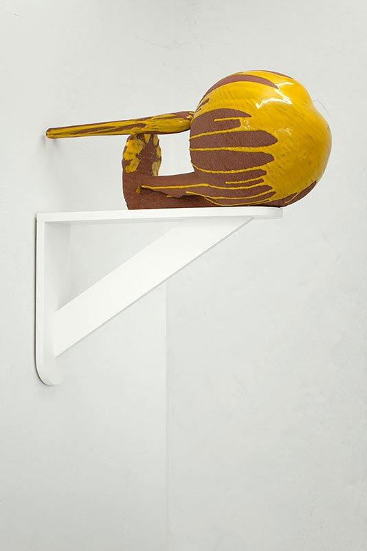 Per Ahlmann: OH MY GOD!, 35 x 78 x 35 cm, keramik, 2013. Foto: Per Ahlmann.
