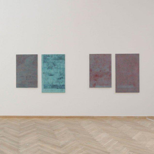 Malerier af Sylvester Hegner, 2014, (Foto: Anders Sune Berg)