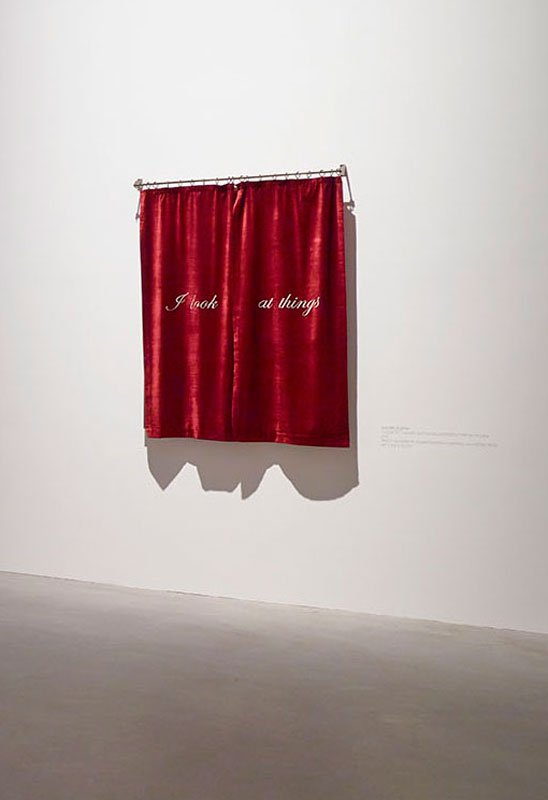 Shilpa Gupta: I Look at things with different eyes than yours, 2013. Foto Anders Sune Berg, Faurschou Foundation
