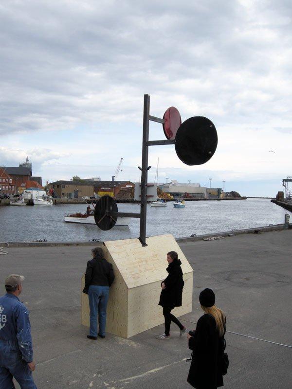 Kim Grønborg: Transmission II, 2014. (Foto: Matthias Hvass Borello)
