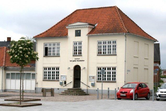 Det gamle havnekontor i Haderslev. Foto: Lasse Juhl Nielsen.