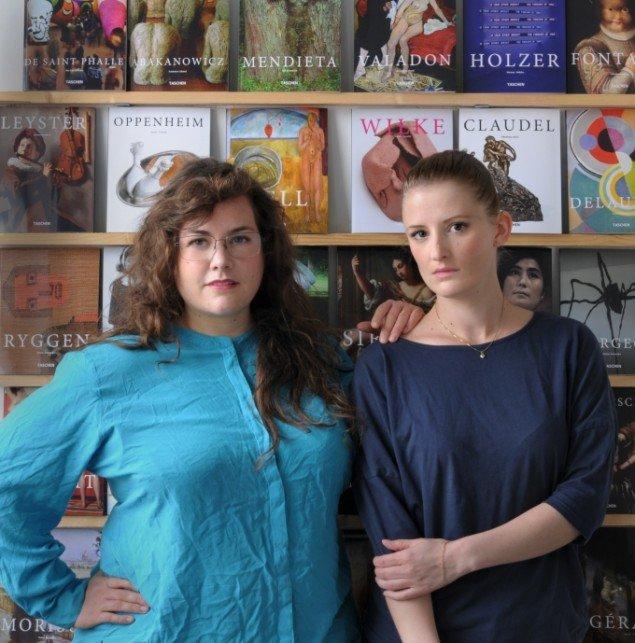 EvaMarie Lindahl & Ditte Ejlerskov, 2014 Foto: Susanna Hesselberg