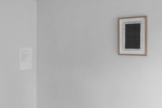 Øystein Wyller Odden (NO 1983): Everything I Have Ever Written.  Indtil 2009 skrev Odden alle sine tekster på skrivemaskine. På Regibemærkninger, Møstings Hus, 2014. Foto: Thomas Cato