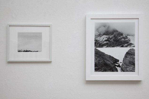 Fotoværker af Gerry Johansson fra Antarktis. (Foto: Jeanette Land Schou)