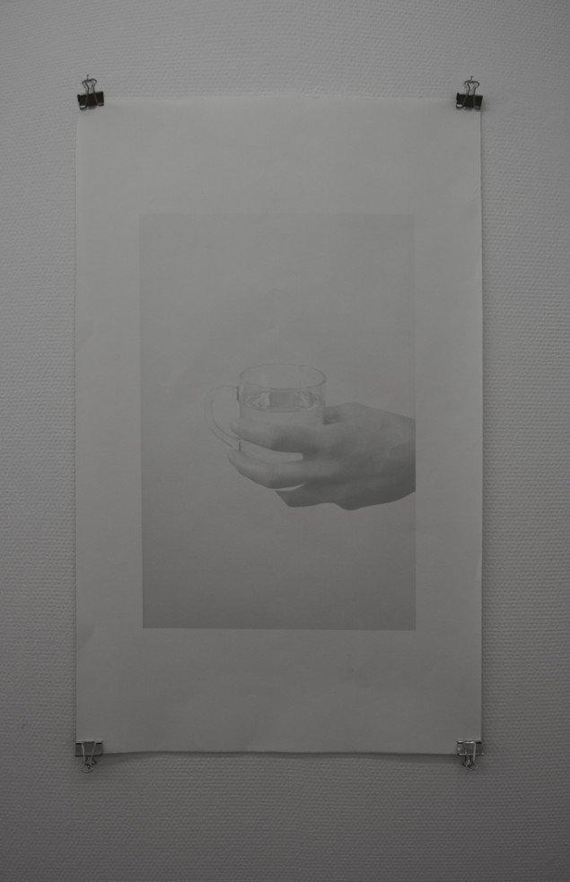 Julia Ekstöm: Claudia III, 2014. C-print. På Nocturne, Udstillingsstedet Sydhavn Station. Foto: Morten Jacobsen
