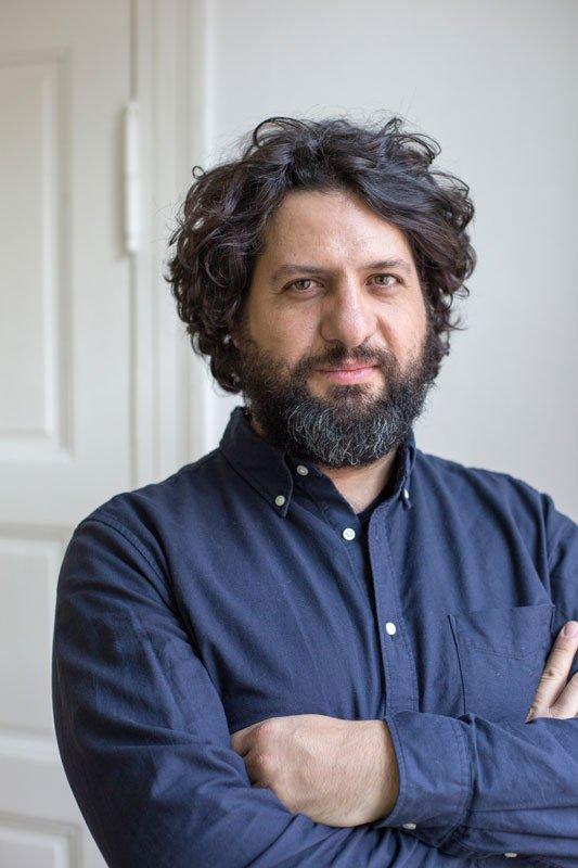 Juan A. Gaitán, kurator for den 8. Berlin Biennale for samtidskunst.(Foto: Thomas Eugster)