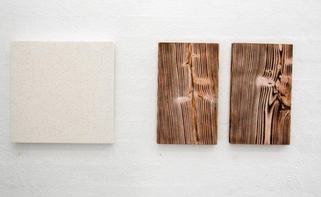 Bess Kristoffersen: Skovalbum. På Makers of Today - Arts + Crafts II, Kunsthal Nord. Foto: Niels Fabæk