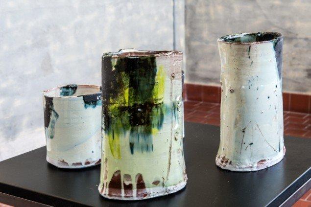 Barry Stedman: Uden titel. På Makers of Today - Arts + Crafts II, Kunsthal Nord. Foto: Niels Fabæk