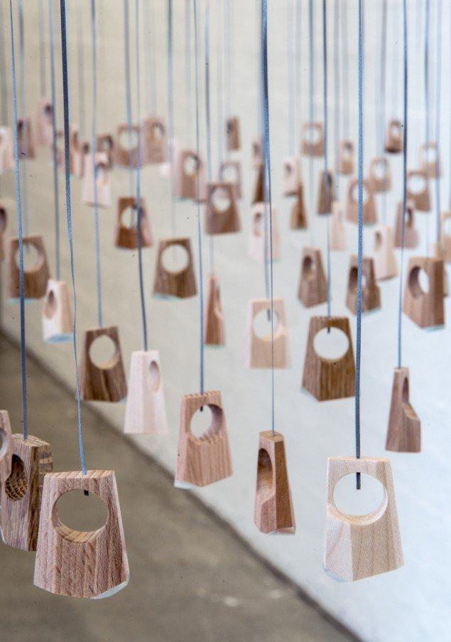 Helle Bjerrum: Er, værk 3. På Makers of Today - Arts + Crafts II, Kunsthal Nord. Foto: Niels Fabæk