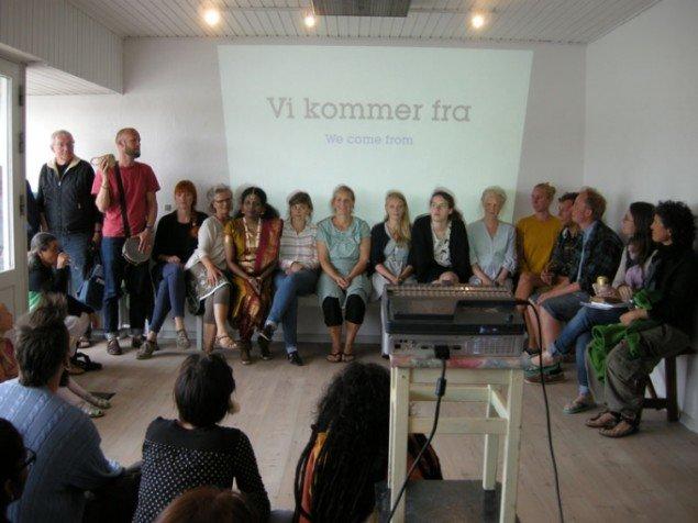 Byttehandel med Triolerne (Odin Teatret), søndag 15. juni i Fortælle Galleriet.