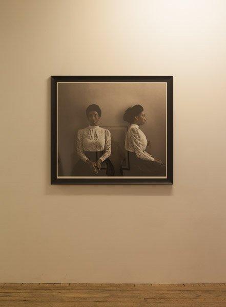 Ayana V Jackson: Prototype / Phenotype, 2013. View fra Possession. Art, Power and Black Womanhood, New Shelter Plan. Foto: Johan Rosenmunthe