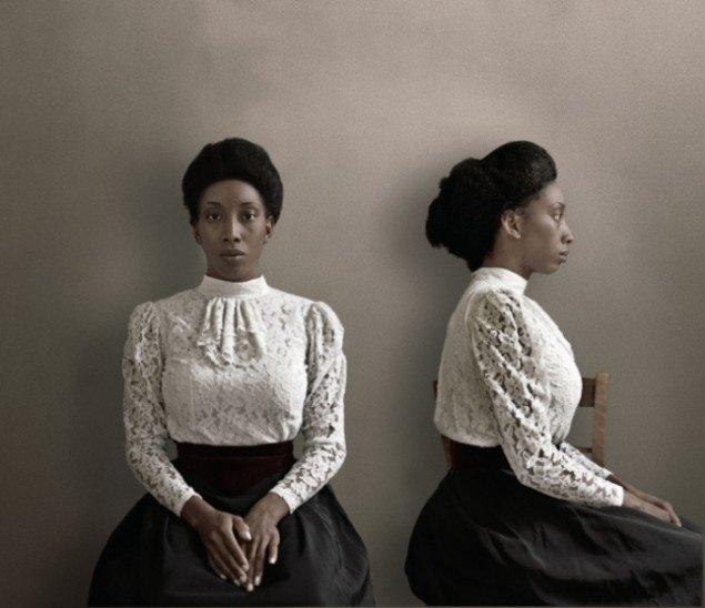 Ayana V Jackson: Prototype / Phenotype, 2013. Arkivisk pigmentprint (udgave af 6 + 3 AP), 100 x 116 cm. På Possession. Art, Power and Black Womanhood, New Shelter Plan. Courtesy Gallery Momo, Sydafrika