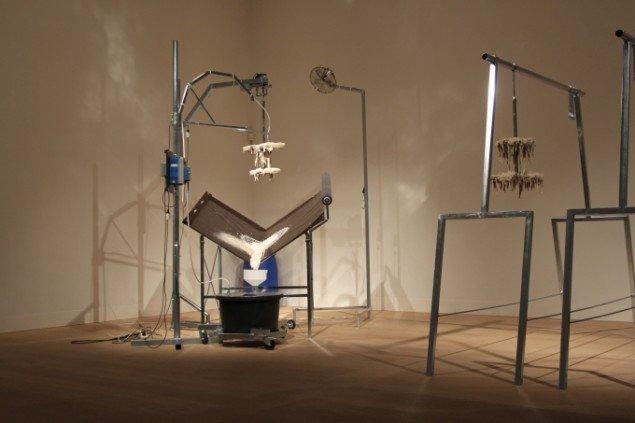 Henrik Menné: TL90, 2014. Skulptur. På Maskine!, Holstebro Kunstmuseum. Foto: Peter Haarby