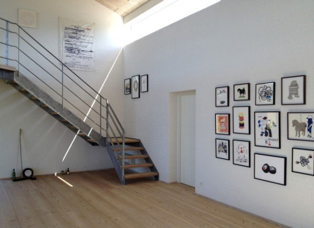 Udstillingsview fra Det Milde Westen, m.galleri. Foto: Rose Eken og Søren Behncke